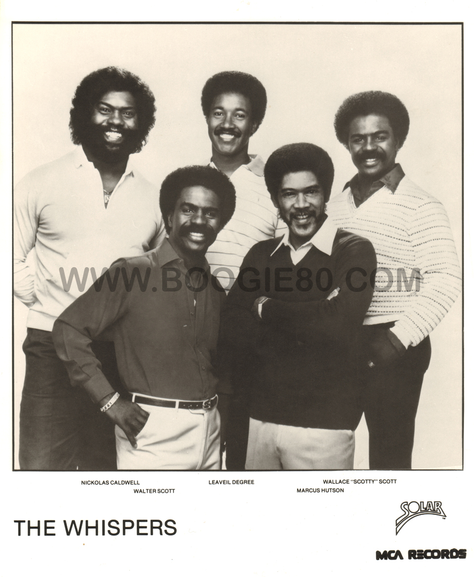 The Whispers 1984 (p)